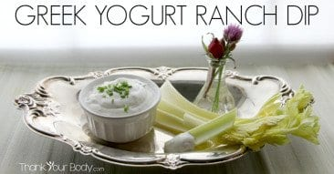 Recipe: Greek Yogurt Ranch Dip