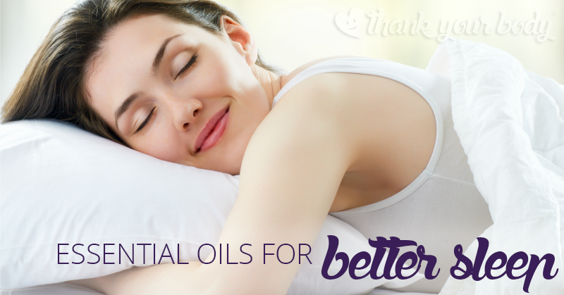 Struggling with insomnia? Learn how to use essential oils for better sleep as part of a healthy living protocol.