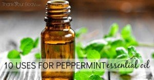 10 Uses for Peppermint Essential Oil - ThankYourBody.com Pin
