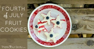 Recipe: Fourth of July Fruit Cookies