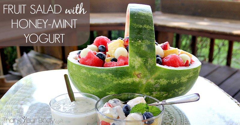 fruit basket anime healthy fruit salad with yogurt recipe