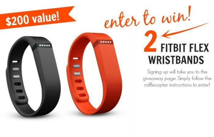 Winner of the TWO FitBit Wristbands!