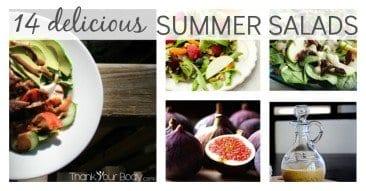 14 Delicious Summer Salad & Dressing Recipes