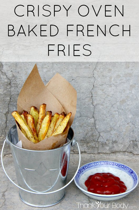 Recipe: Crispy Oven Baked French Fries