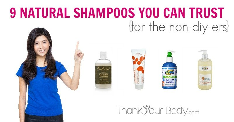 Finally! A list of natural shampoo products that have safe ingredients and good user reviews! Yay!