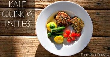 Recipe: Kale Quinoa Patties