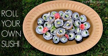 Recipe: Roll Your Own Sushi
