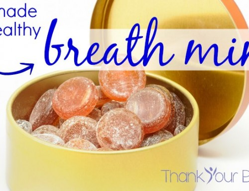Homemade and Healthy Breath Mints