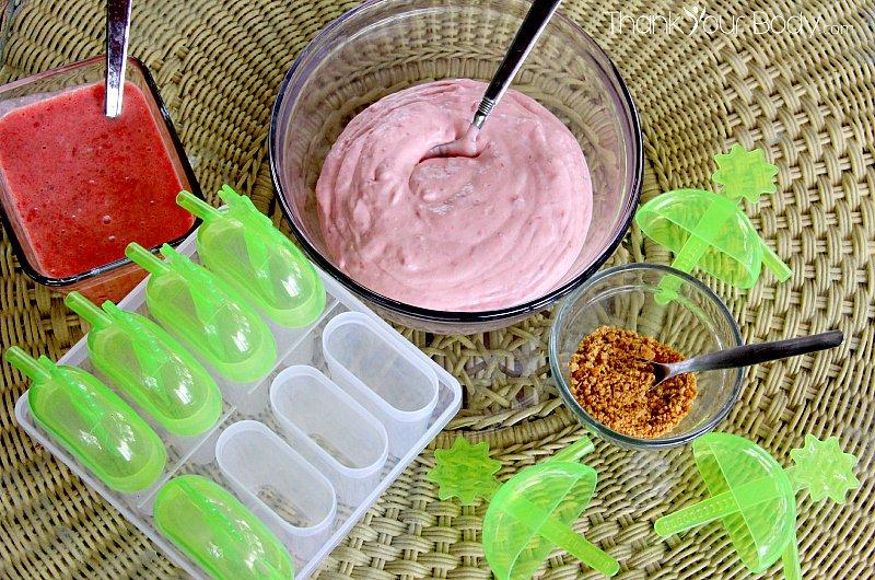 Cheesecake Frozen Yogurt Pops Recipes — Dishmaps