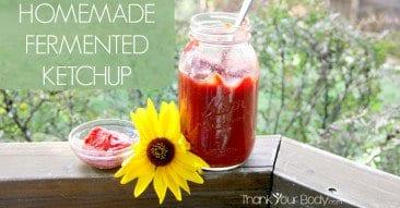 Recipe: Homemade Fermented Ketchup