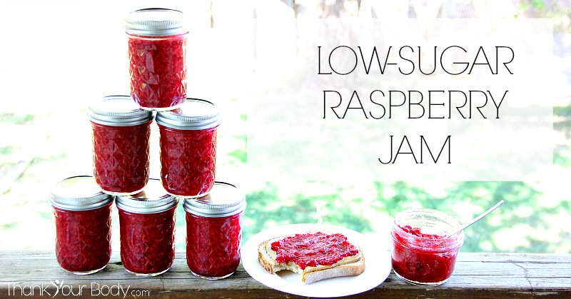 Recipe: Low Sugar Raspberry Jam