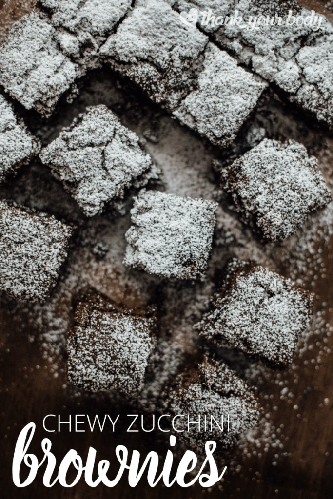 These rich, chocolaty zucchini brownies will satisfy your deepest craving. Zucchini makes the brownies moist, but you'll never know it's there! So yummy.