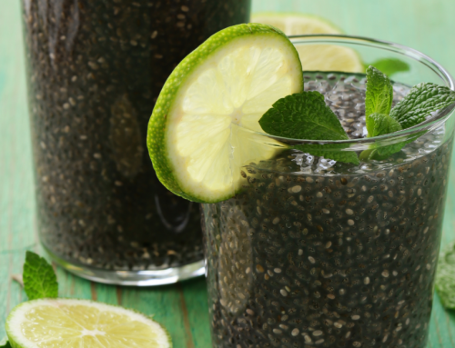 Tulsi and Chia Seed Homemade Sports Drink