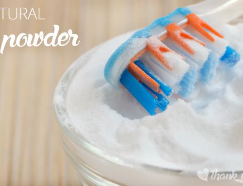 DIY All Natural Tooth Powder