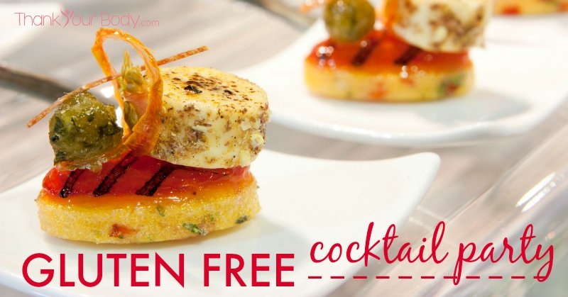Gluten free cocktail party for Gluten free canape ideas