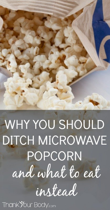 Microwave popcorn is bad. But here are some great and easy alternatives to microwave popcorn.