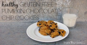 Recipe: Healthy Gluten Free Pumpkin Chocolate Chip Cookies