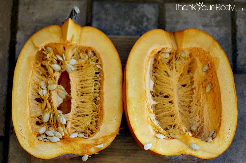 It's easy (and cheap!) to roast and puree your own pumpkin. Freeze it with this neat trick so that you'll have pumpkin all year long!