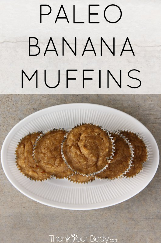 These delicious banana muffins are mostly banana and egg, with a bit of coconut or almond flour. Yummy!