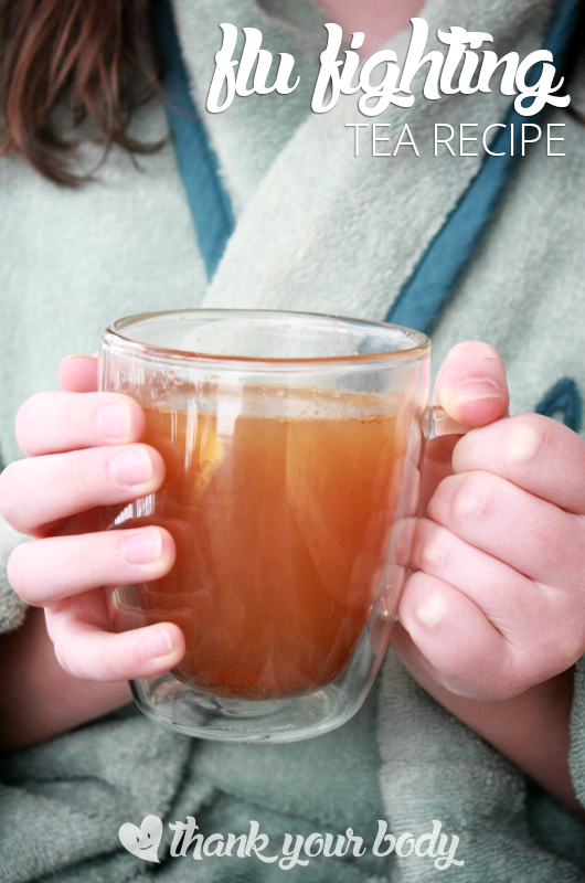 Flu Fighting Tea Recipe (Andrew's Hot Lemon)