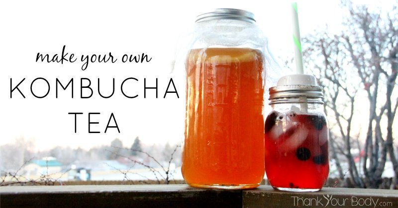 how to make my own kombucha