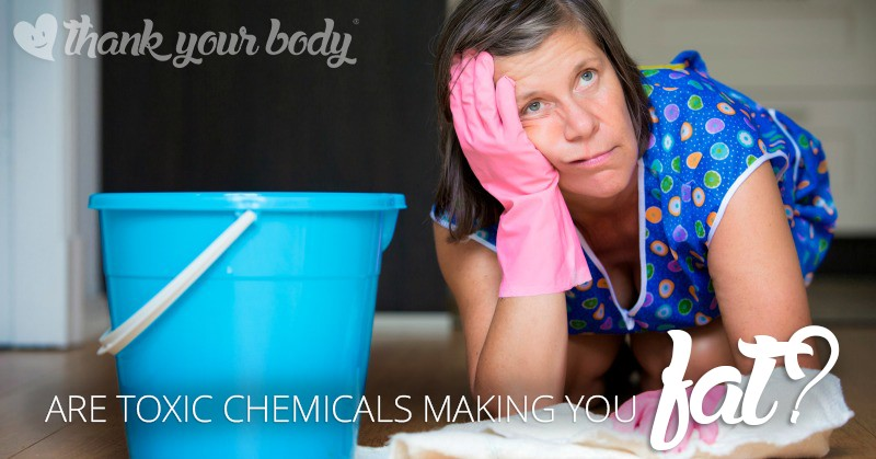 Are toxic chemicals making you fat? Learn how the common products in your home may be ruining your weight-loss efforts.