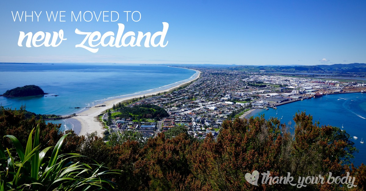 Wondering what it's like to move to New Zealand? Learn why my family moved to New Zealand and what's next for us.