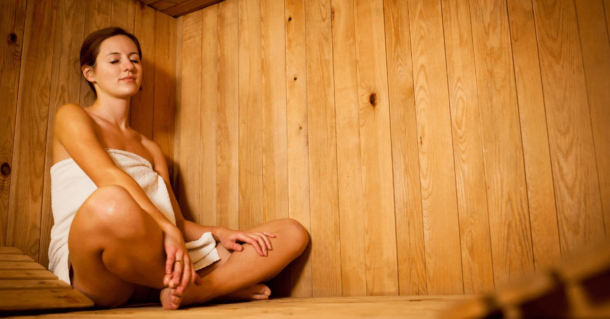6 incredible health benefits of infrared saunas. Yes, please.
