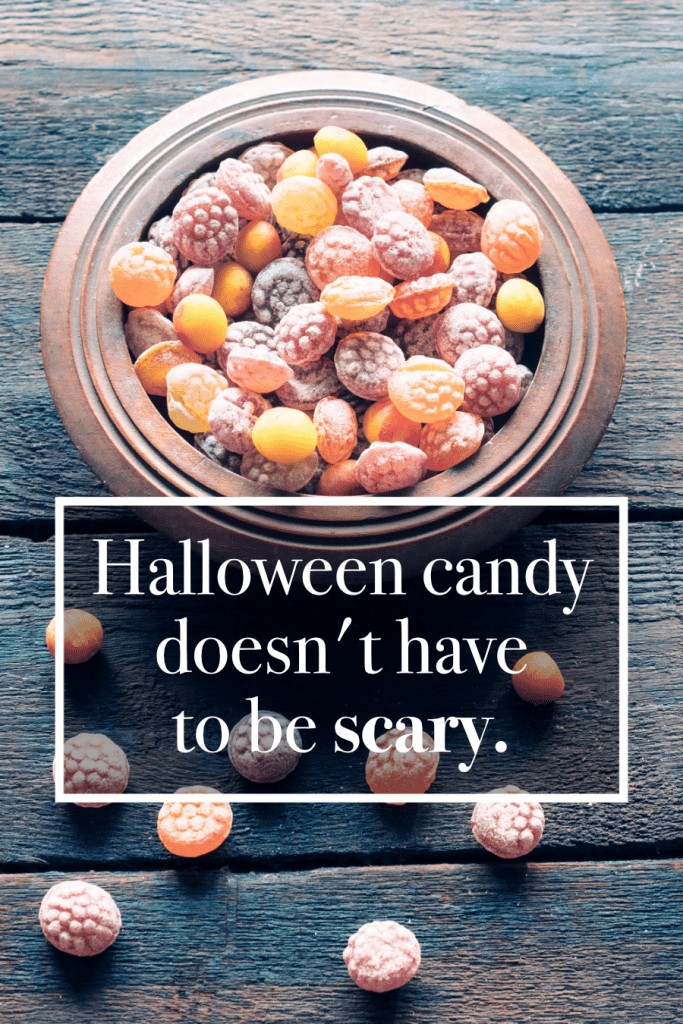 Some awesome healthier, natural Halloween candy options with lots of allergy-friendly options!