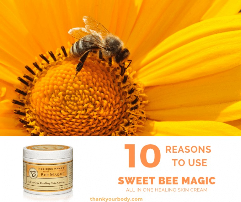 Natural Skin Care with Sweet Bee Magic #naturalskincare #skincare #naturalremedies #sweetbeemagic