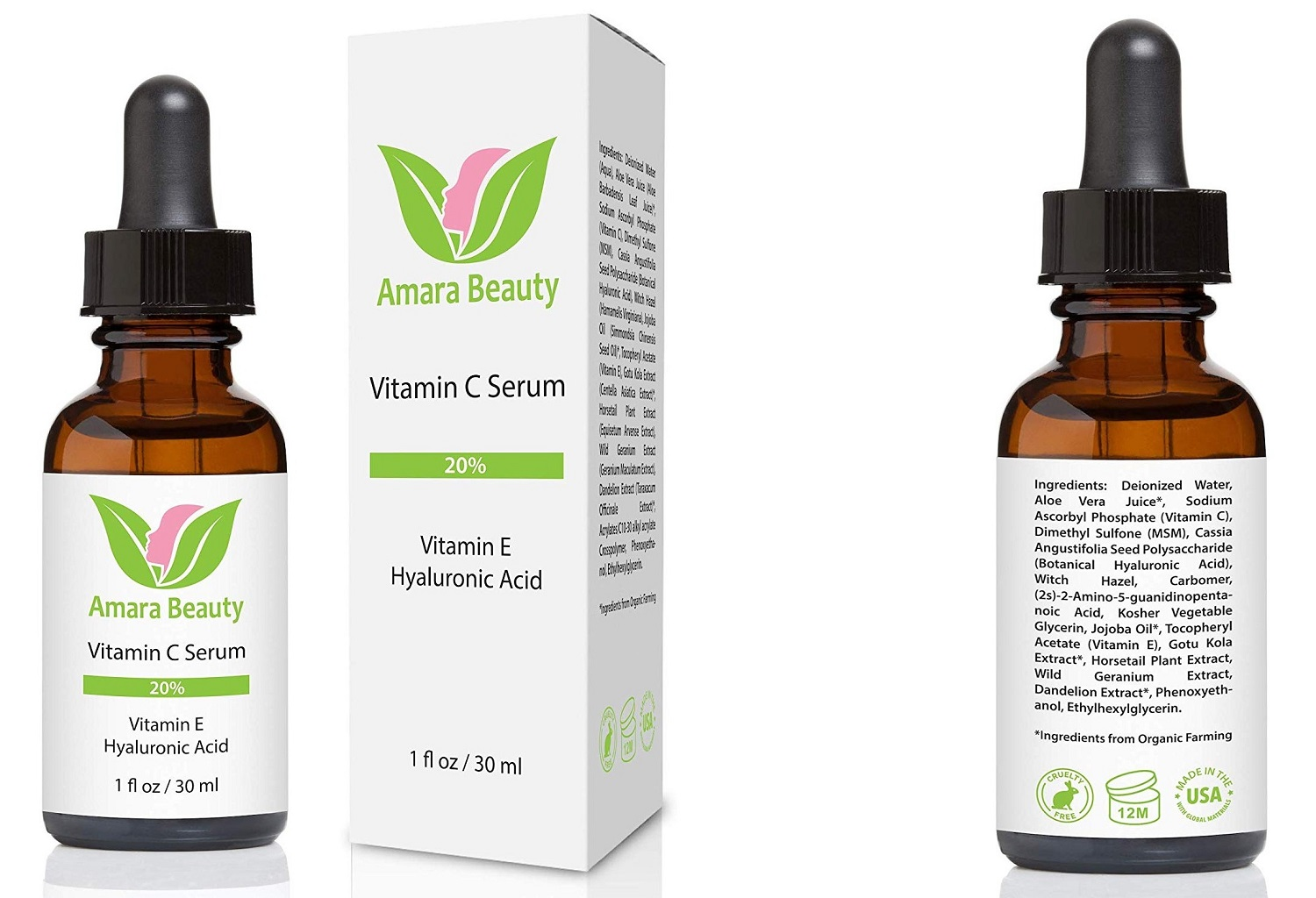 amara beauty vitamin c serum