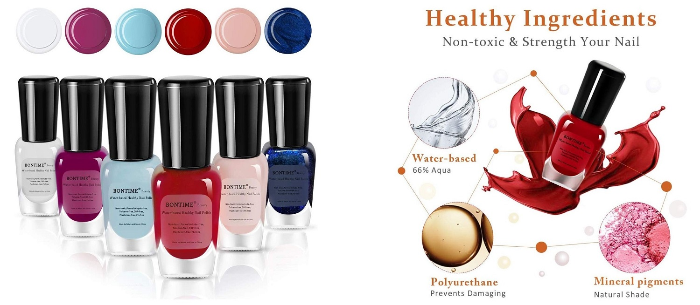 bontime water based nail polish