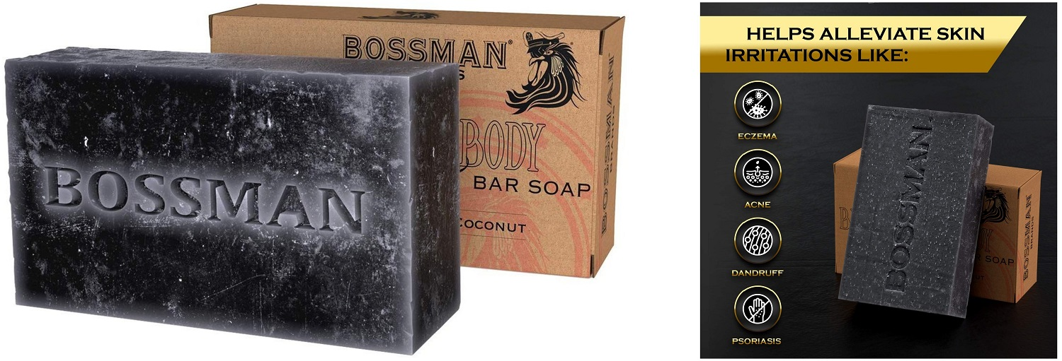 bossman 4 in 1 bar soap
