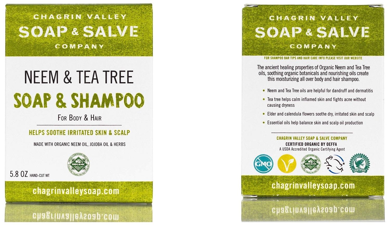 neem and tea tree soap