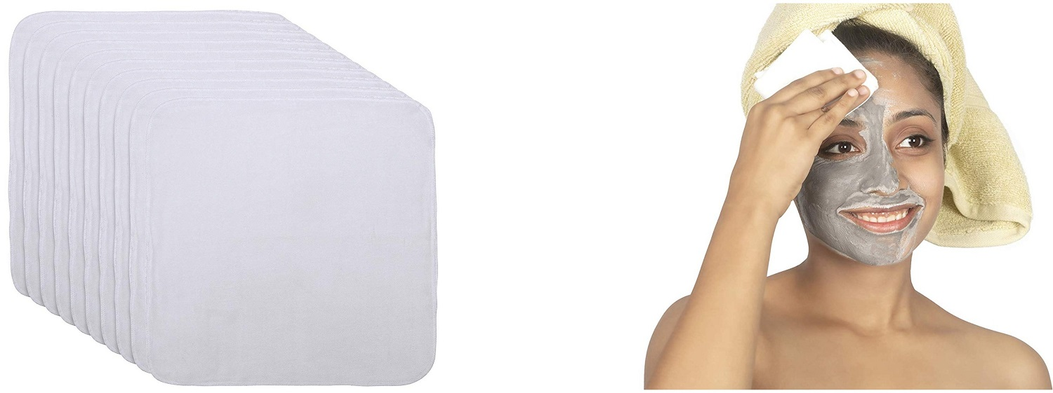 organic cotton facial cleansing cloth