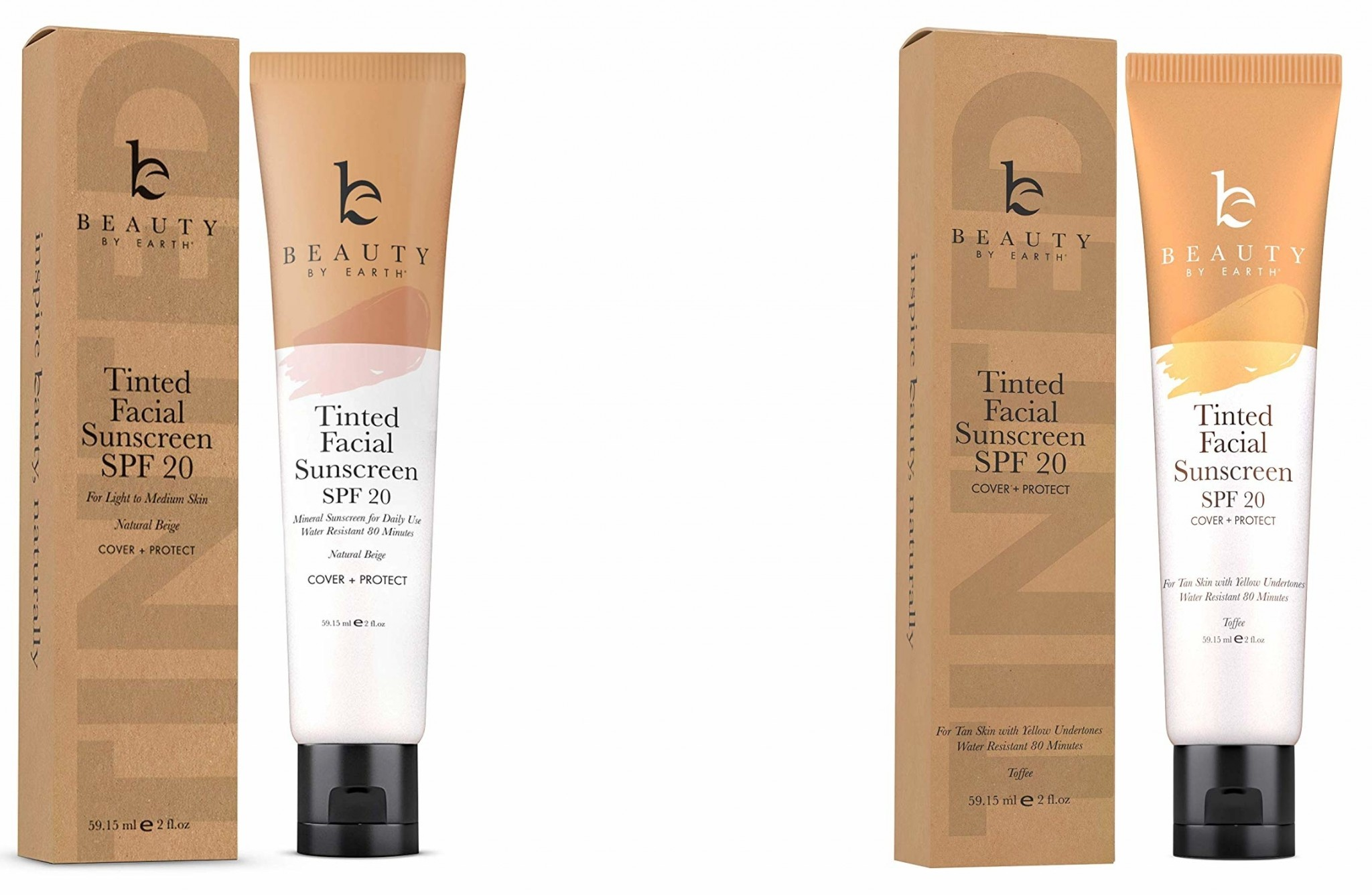 tinted facial sunscreen spf 20