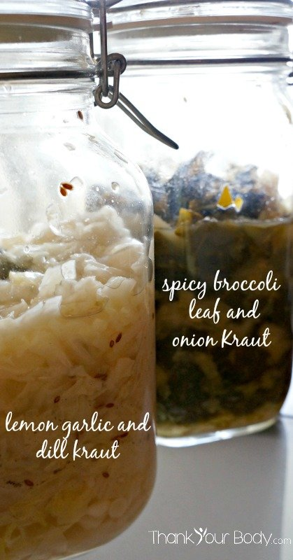 Homemade Sauerkraut 5 Ways