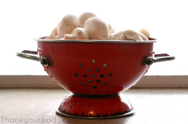 Savory Stuffed Mushrooms