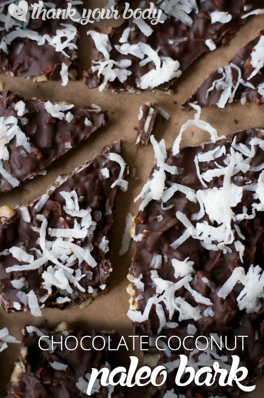 Chocolate Paleo Bark