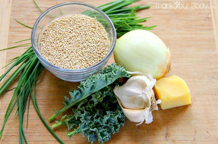 Kale Quinoa Patties