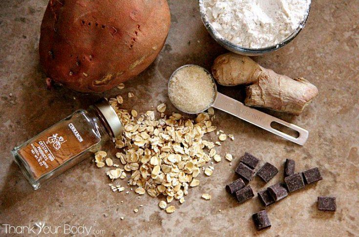 Ginger-Cinnamon Sweet Potato Cookies