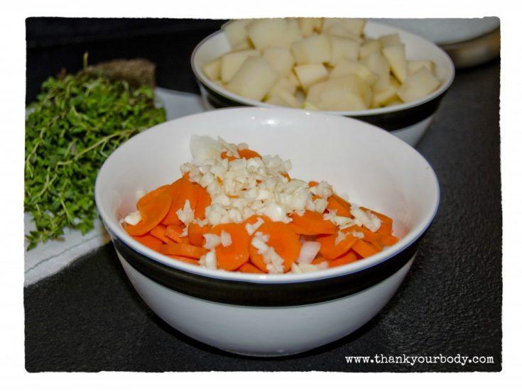 Parmesan, Zucchini, and Potato Soup
